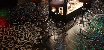 Imagen de pavimentos continuos decorativos